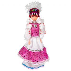 Traditional girl doll, (do43)